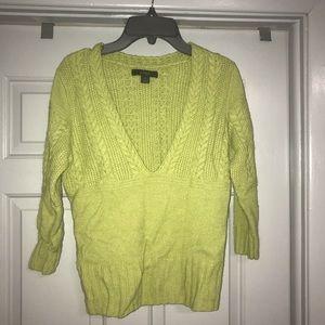 Green EXPRESS Sweater. MUST BE BUNDLED